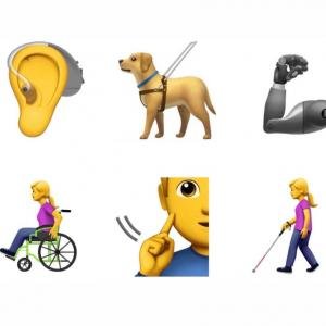 Apple Accessibility Emoji