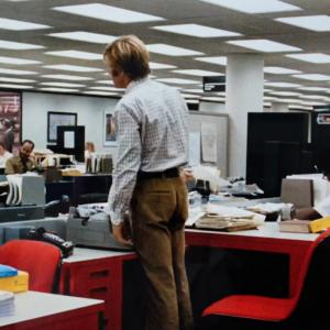 All the President's Men - color-coordinated office furniture